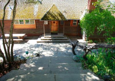 Heartwood Main Lodge Entrance