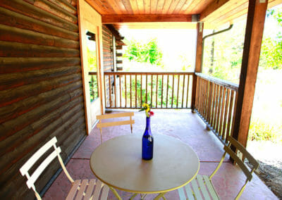 Main Lodge Outdoor Seating